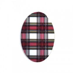 Plexi Acrylic Oval Flatback 30x45mm
