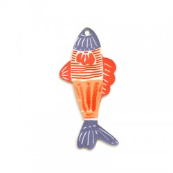 Plexi Acrylic Pendant Fish 27x59mm
