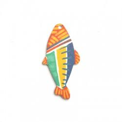 Plexi Acrylic Pendant Fish 27x55mm