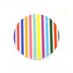 Πλέξι Ακρυλικό Μοτίφ Στρογγυλό 50mm