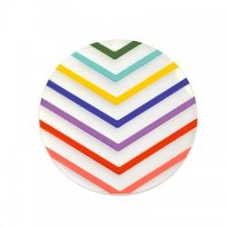 Plexi Acrylic Pendant Round 60mm