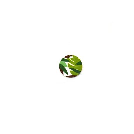 Πλέξι Ακρυλικό Μοτίφ Στρογγυλό Φύλλα 20mm