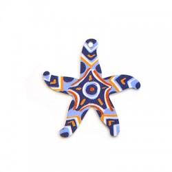 Πλέξι Ακρυλικό Μοτίφ Αστερίας 44mm