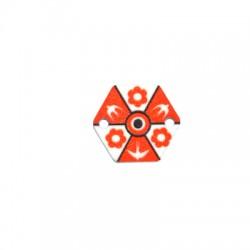 Πλέξι Ακρυλικό Χαρταετός Χελιδόνι για Μακραμέ 18x16mm