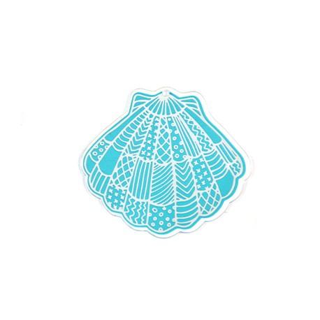 Πλέξι Ακρυλικό Μοτίφ Αχιβάδα 70x65mm