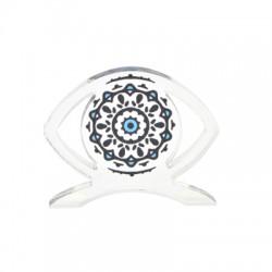 Plexi Acrylic Deco Eye 80x63mm