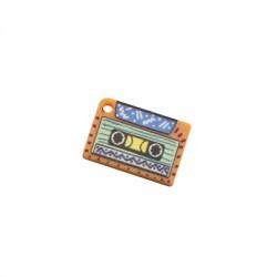 Pendentif cassette en Plexiacrylique 20x14mm