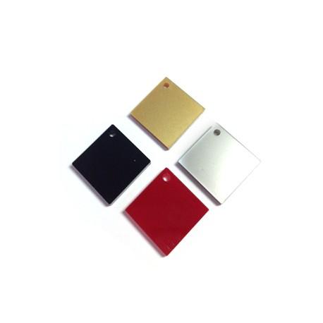 Πλέξι Ακρυλικό Μοτίφ Τετράγωνο Ρόμβος 17mm (Ø1.8mm)