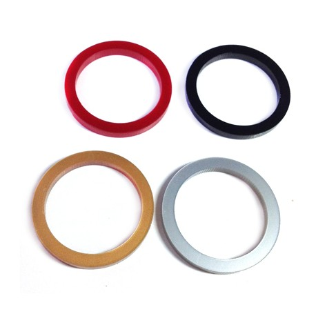 Pendentif Cadre Rond en Plexyacrylique 30mm (épaisseur 3mm)