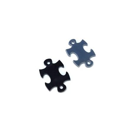 Plexy Acrylic Connector Puzzle Piece 20x15mm