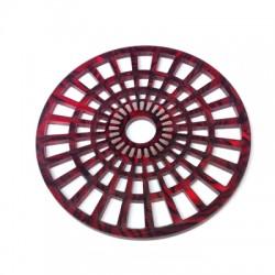 Pendentif Rond en Plexiacrylique 60mm