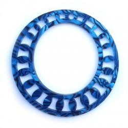 Pendentif Rond en Plexiacrylique 60mm avec trou