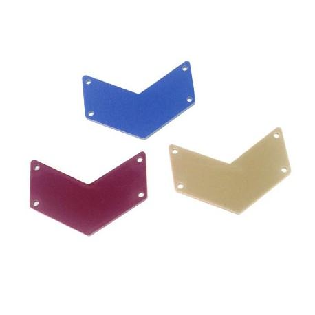 Intercalaire Signe Militaire en Plexiacrylique 45x17mm