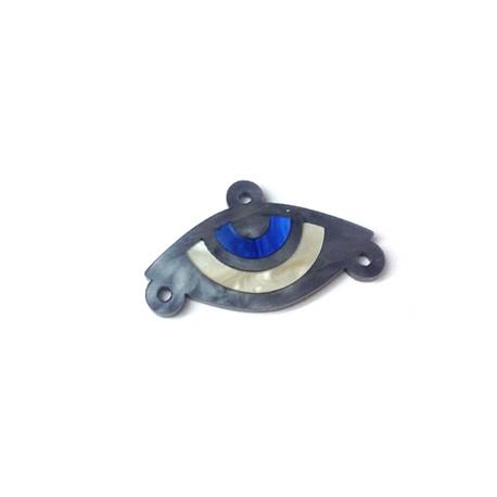 Connettore in Plexiacrilico Ovale 35x16mm