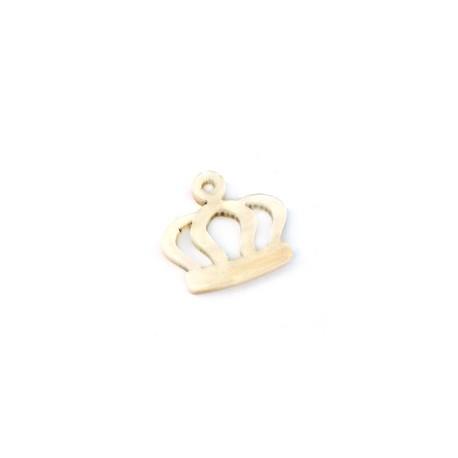 Plexi Acrylic Pendant Crown 19x13mm