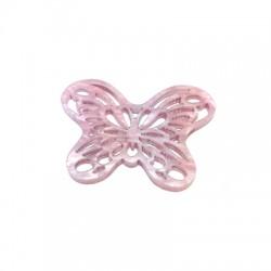 Pendentif Papillon en Plexiacrylique 29x39mm