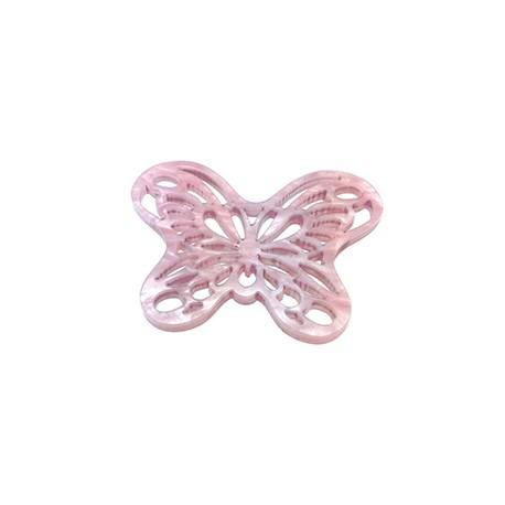 Plexi Acrylic Pendant Butterfly 29x39mm