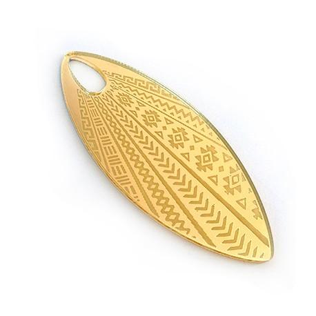 Plexi Acrylic Pendant Leaf