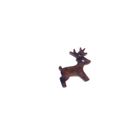 Plexi Acrylic Charm Reindeer 20mm