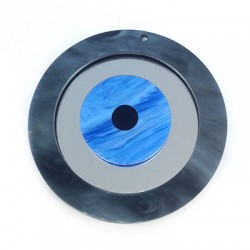 Plexi Acrylic Pendant Round Eye 80mm