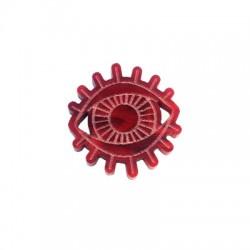 Charm in Plexiacrilico Occhio Portafortuna 24x25mm
