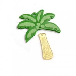 Pendentif palmier en Plexiacrylique 68x59mm