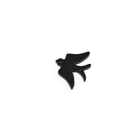 Plexi Acrylic Pendant Swallow 23x17mm Connector
