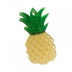 Pendentif ananas en Plexicrylique 48x25mm