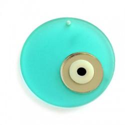 Plexi Acrylic Round Pendant Eye 50mm