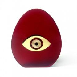 Πλέξι Ακρυλικό Διακοσμητικό Διπλής Όψης Αυγό Μάτι 114x90mm