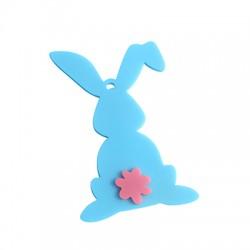 Plexi Acrylic Easter Bunny 85x59mm