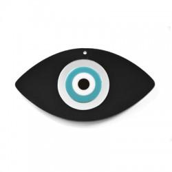Plexi Acrylic Eye 48x90mm