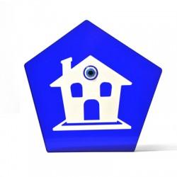 Plexi Acrylic Deco House 134x127mm