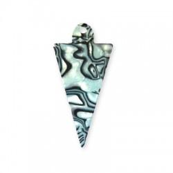 Plexi Acrylic Pendant Triangle 60x29mm