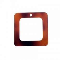 Πλέξι Ακρυλικό Μοτίφ Τετράγωνο Περίγραμμα 50mm