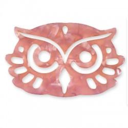 Plexi Acrylic Pendant Owl 71x44mm