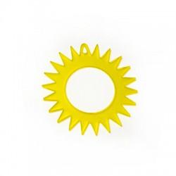 Plexi Acrylic Pendant Sun 54mm