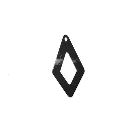Ciondolo in Plexiacrilico Rombo 30x60mm