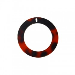 Πλέξι Ακρυλικό Μοτίφ Στρογγυλό Περίγραμμα 65mm