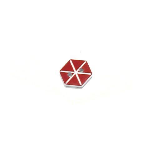Bottone in Plexiacrilico Acquilone 13x15mm