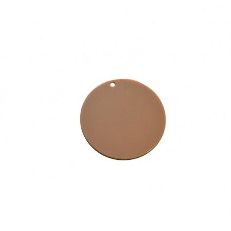 Ciondolo in Plexiacrilico Rotondo 45mm