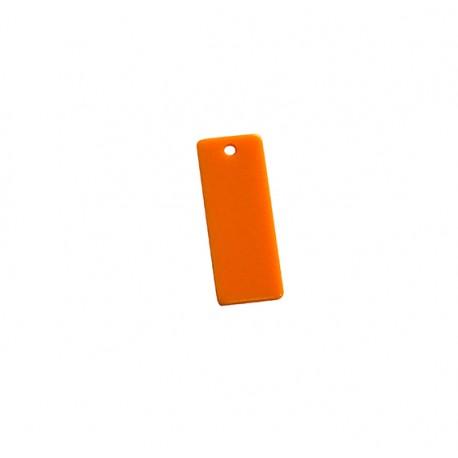 Ciondolo in Plexiacrilico Rettangolo 12x30mm