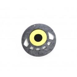 Ciondolo in Plexiacrilcio Rotondo con Occhio Portafortuna 60mm