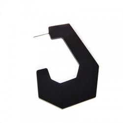 Plexi Acrylic Earring 42x53mm