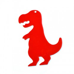 Ciondolo in Plexiacrilico Dinosauro 56x80mm