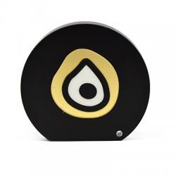 Plexi Acrylic Deco Round Eye 69x64mm
