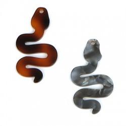 Πλέξι Ακρυλικό Μοτίφ Φίδι 25x45mm