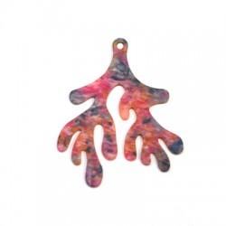 Πλέξι Ακρυλικό Μοτίφ Κοράλι 48x59mm