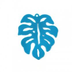 Plexi Acrylic Pendant Leaf 47x55mm