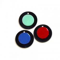 Plexi Acrylic Charm Round 20mm